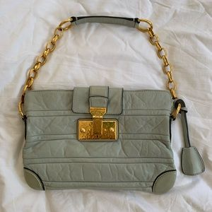 Marc Jacobs Quilted Shoulder Bag with Chain Handle